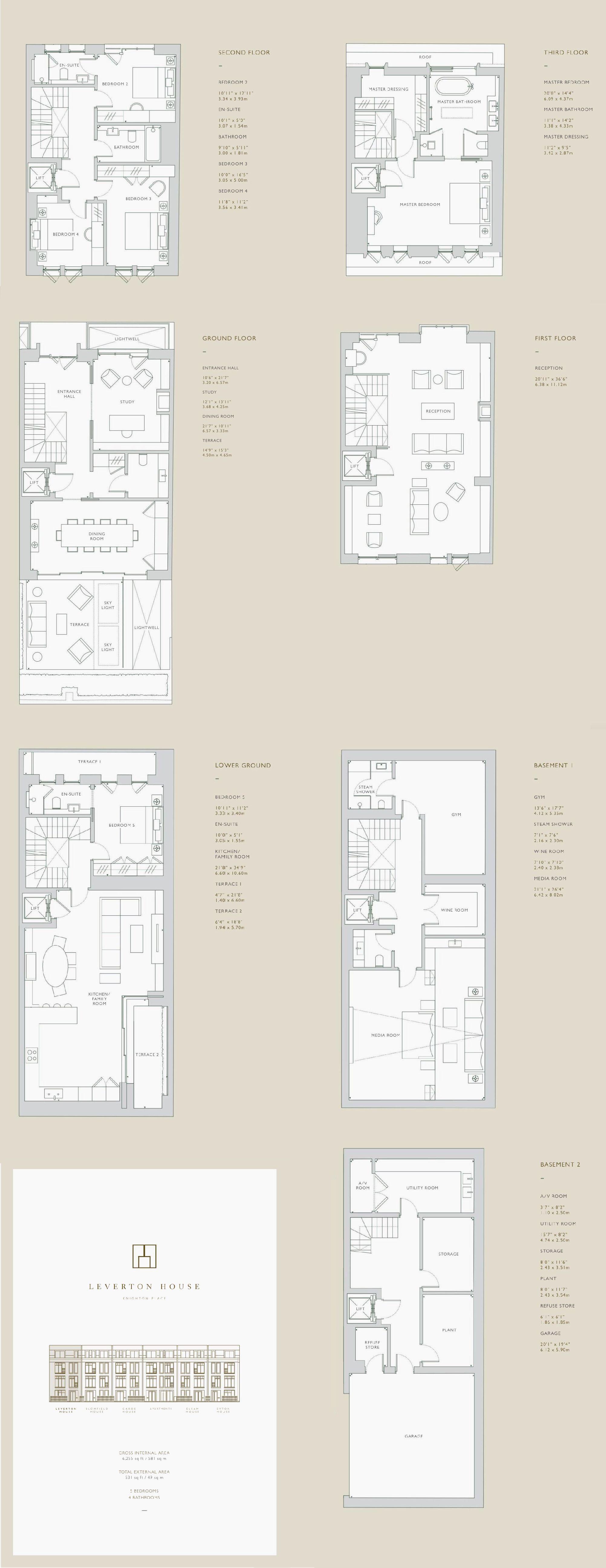 Leverton House Knighton Place Town House Floor Plan House Floor Plans Floor Plans