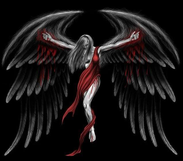 Dark angel. (With images) Dark angel wallpaper, Angel