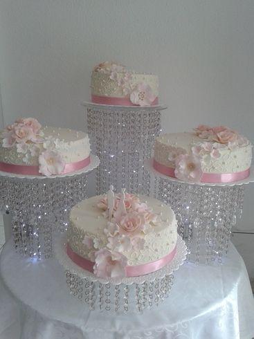 Weiss Rose Kristall Torte Hochzeitstorte Svadebnyj Tort