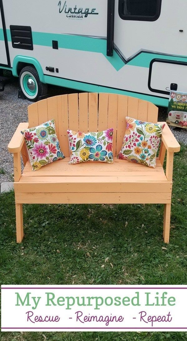 Excellent Pallet Love Seat Bench Awesome Diy And Home Decor Creativecarmelina Interior Chair Design Creativecarmelinacom