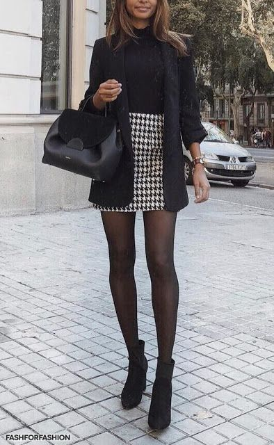 Une jupe au bureau ... en automne | Stylée.fr