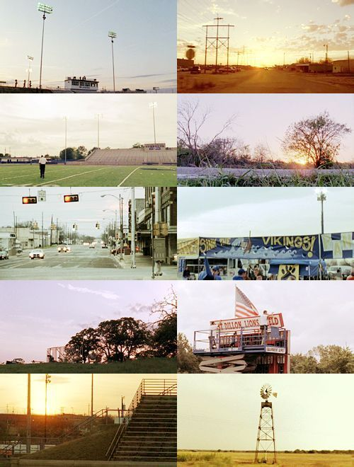 Friday Night Lights scenery #fridaynightlights Friday Night Lights scenery #fridaynightlights