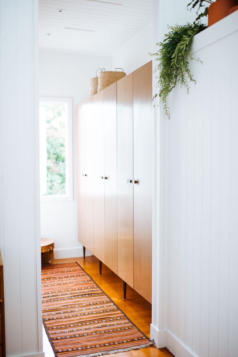 how to build your own wardrobes (out of kitchen cabinets