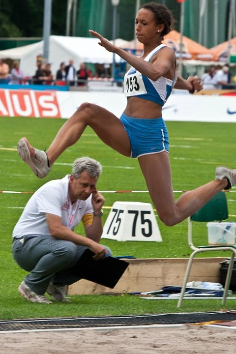 Free photo: Athletics, Sport, Long Jump - Free Image on Pixabay ...