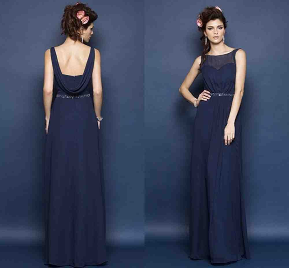 Navy Blue Bridesmaid Dresses Under 100