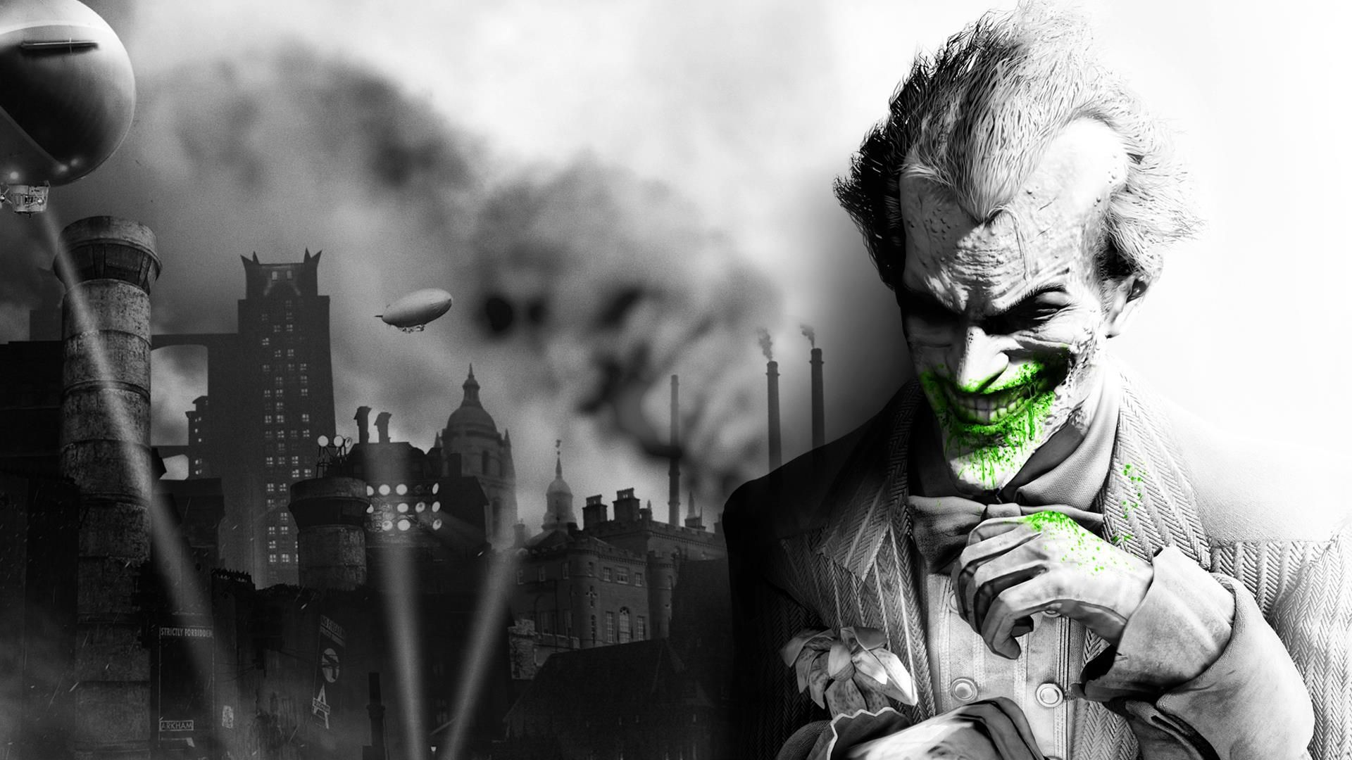 The Joker Arkham City Hd Desktop Wallpaper High Definition Batman Arkham City Arkham City Batman