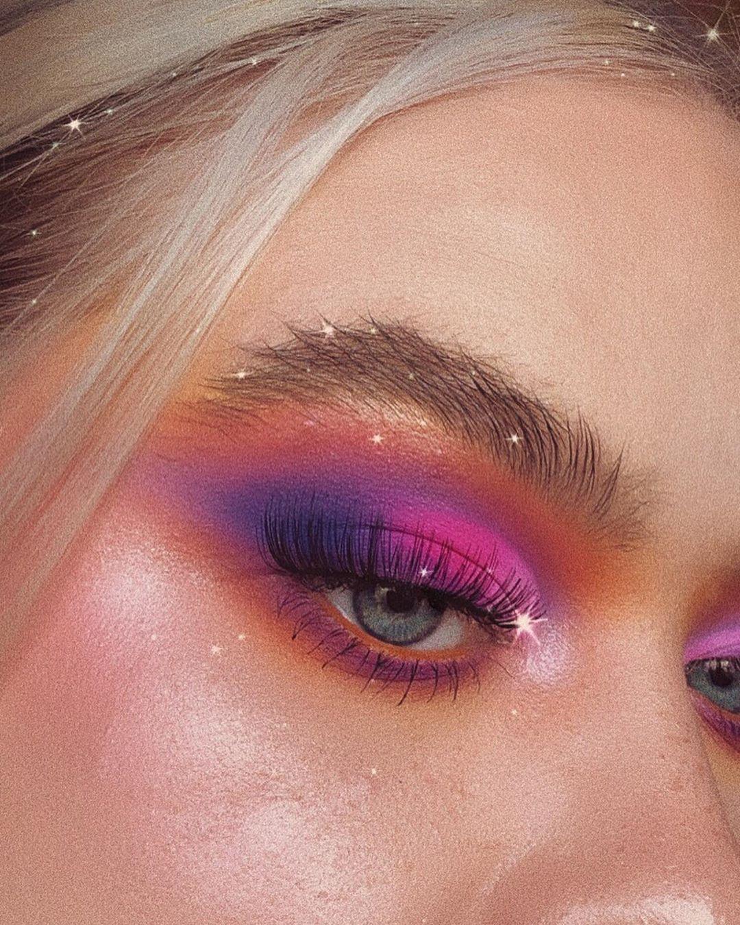 Slow Plum - Maquillage de soirée Eye liner smoky