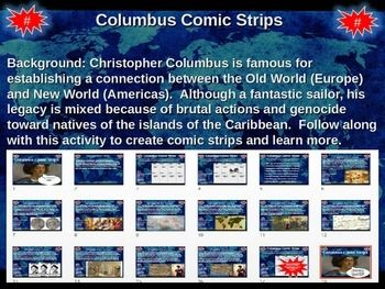 Already Christopher columbus comic strip