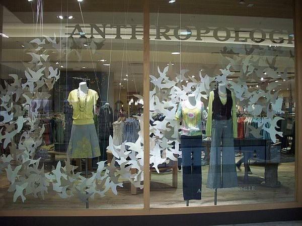 Anthropologie Spring Paper Bird Windows 2009 By Matthew