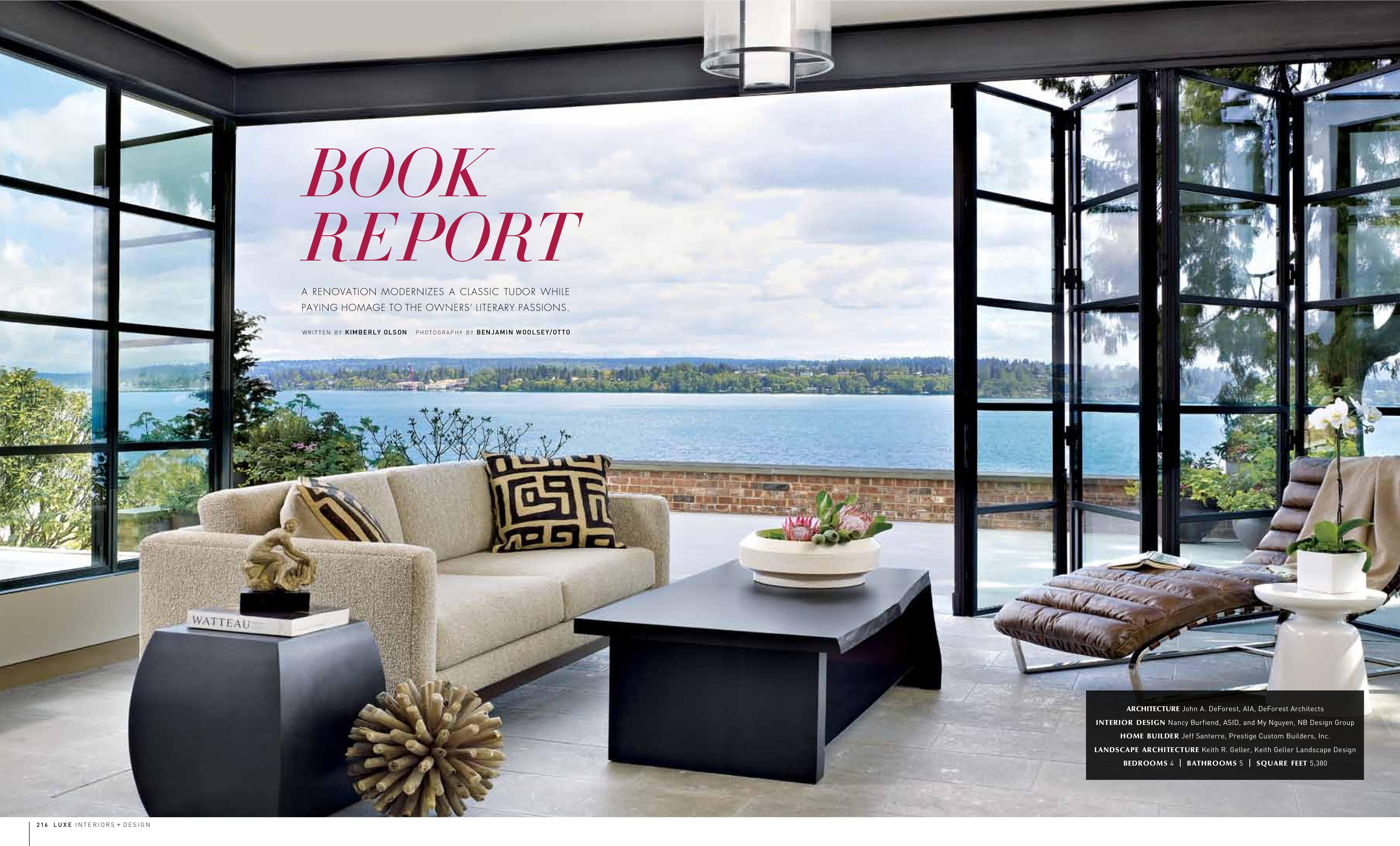 Luxe Interiors Photos | LUXE Interiors + Design | Living Rooms | Pinterest