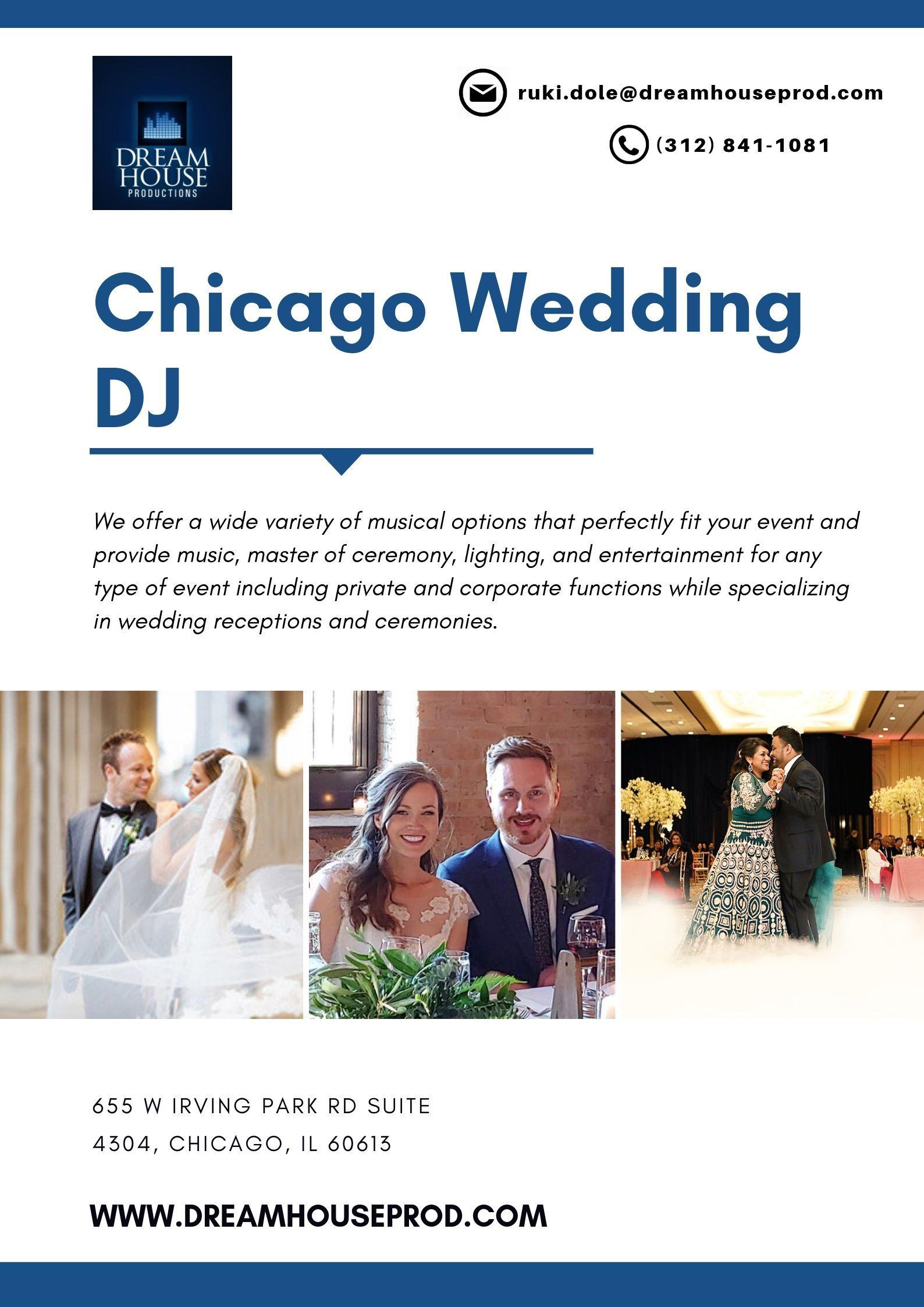 Chicago Wedding Dj Chicago Wedding Wedding Dj Dj