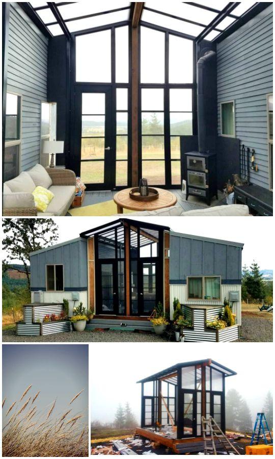 "2016 Custom Luxury Tiny House – ""Ohana House"" in Staffel 3 von Tiny House Nation – Kleines Haus zum Verkauf in McMinnville, Oregon   – Tiny Houses"