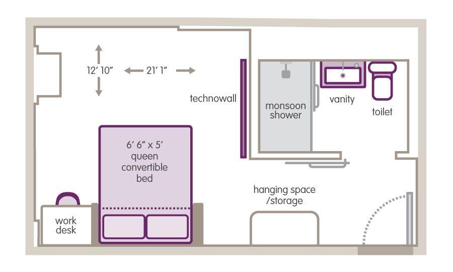 Small Hotel Room Floor Plan Small Room Plans Hotel Floor Plan