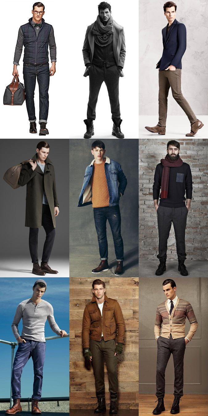 88034ba6026 Men's Boots Lookbook & Outfit Inspiration | moda in 2019 | Mens ...