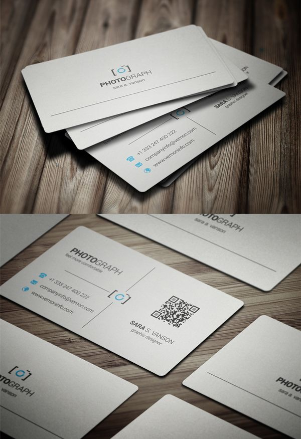 Business Cards Design: 50+ Amazing Examples to Inspire You - 6 ...