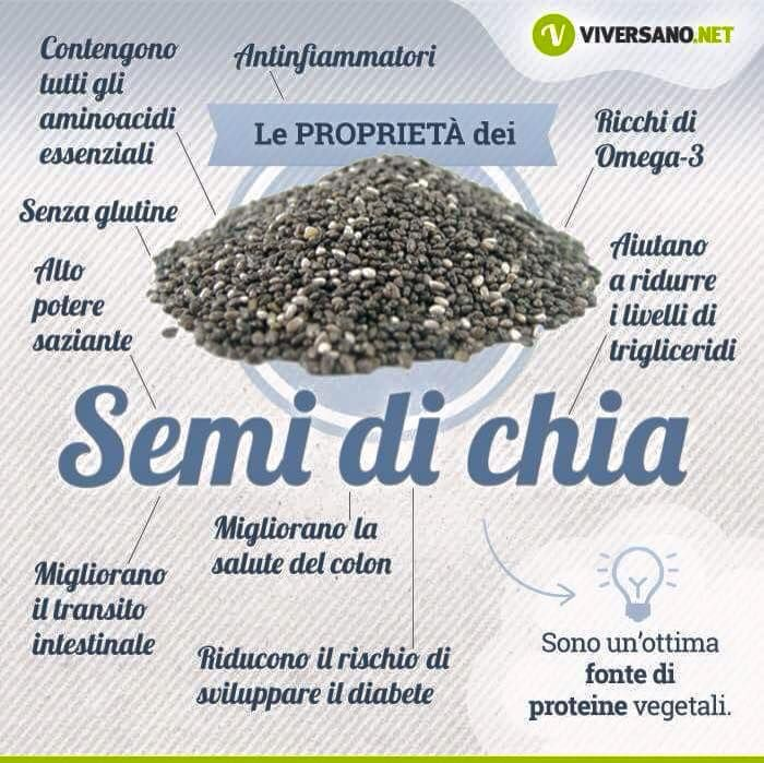 Proprietà semi di chia