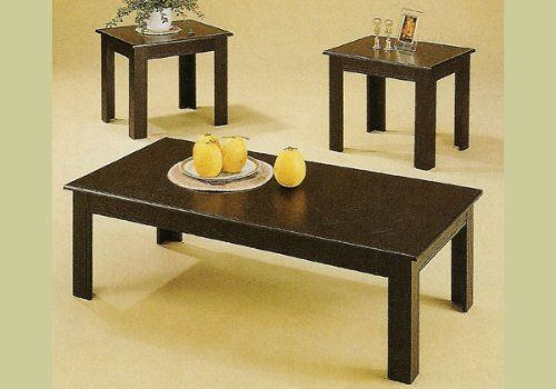 Best 3 Piece Black Oak Coffee Table Set Wood End Tables By 400 x 300