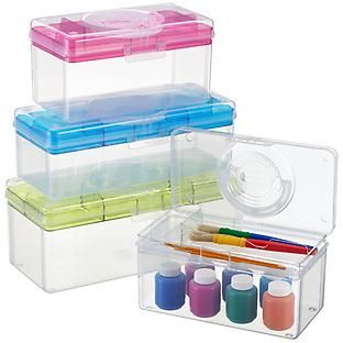 First Aid Kit Nail Polish Paints Craft Supplies Hobby Boxes The Container Store Container Store Hobby Electronics Store Hobby Supplies
