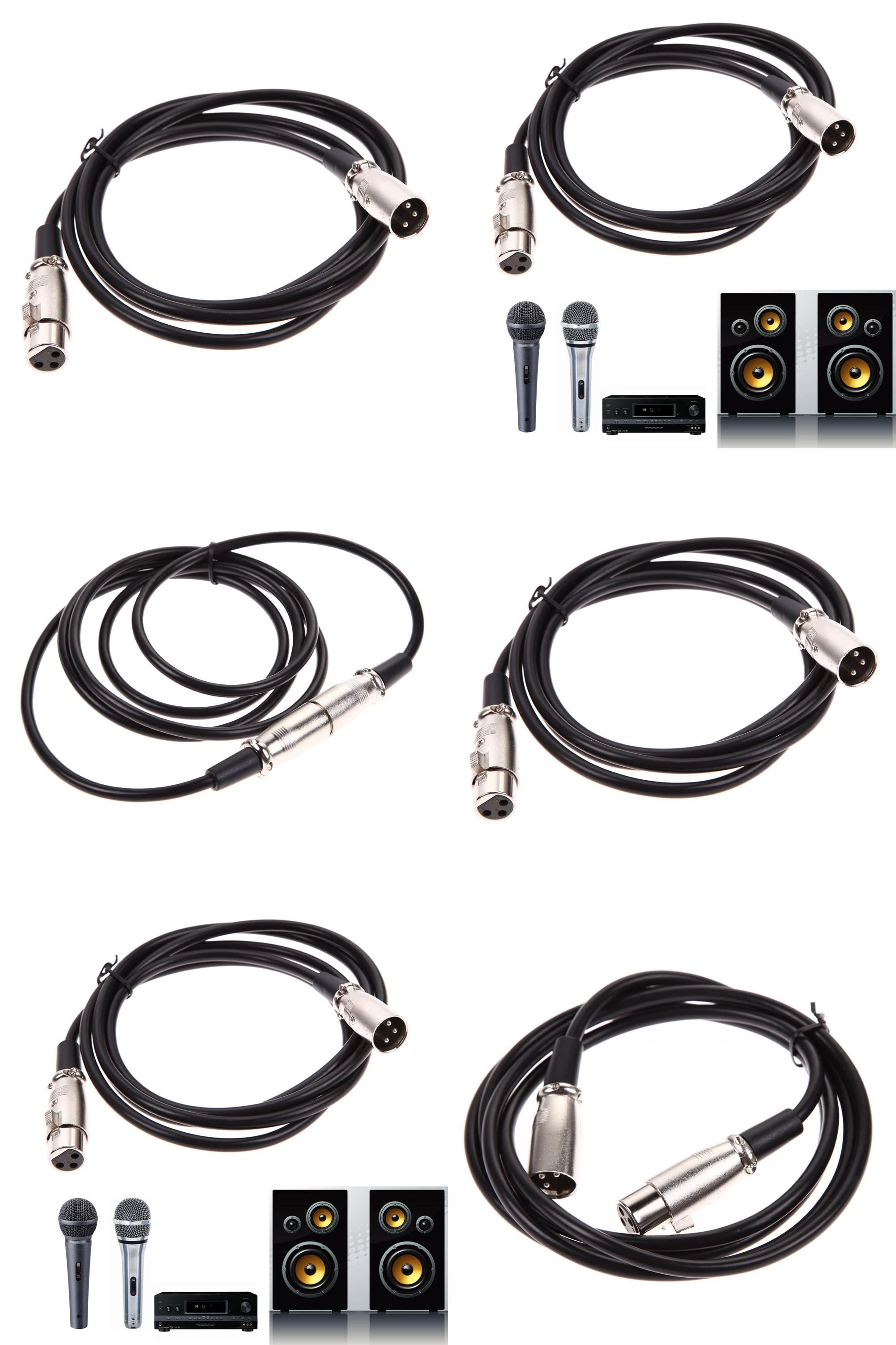 Visit To Buy 1 8 3 4 5 5 6 7 6 8 10 M Shielded 3pin Xlr