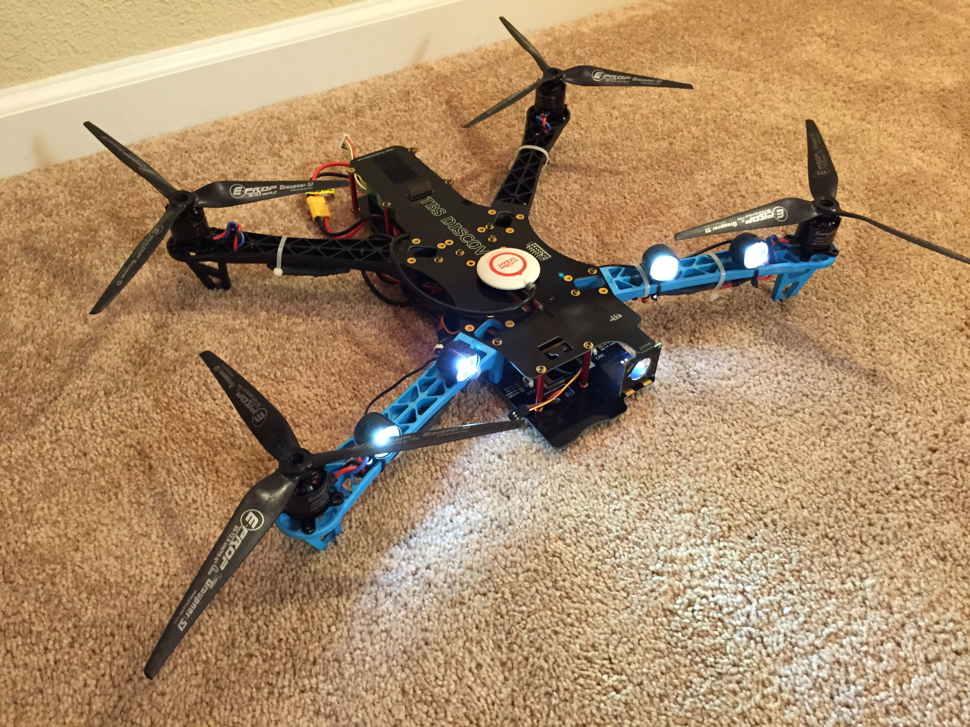 TBS discovery blue arms   Hobby Drone in 2019   Rc drone