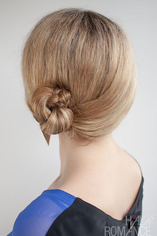 30 Buns in 30 Days – Day 9 – Side braid bun hairstyle #braidedbuns