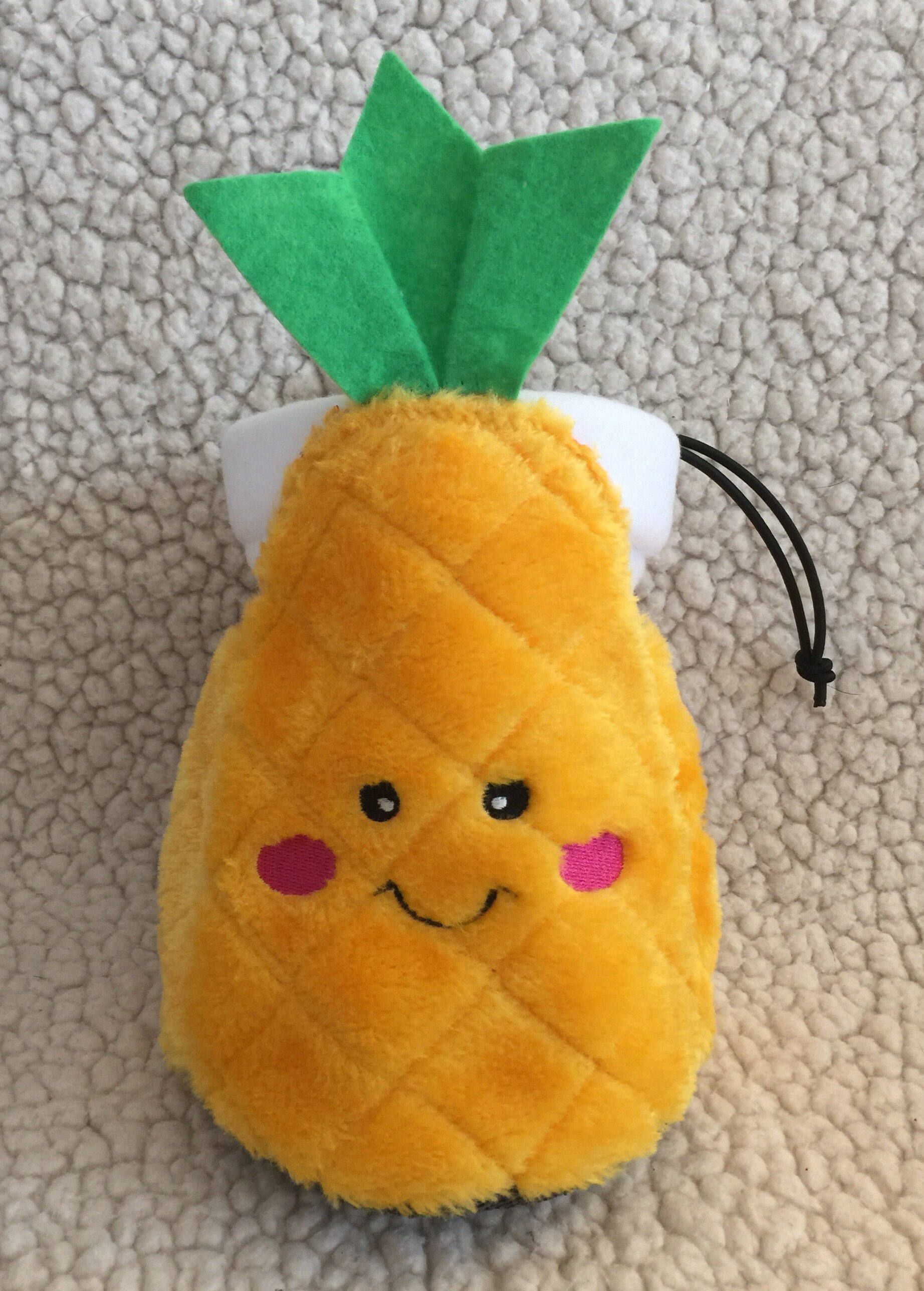 kawaii pineapple chalk bag