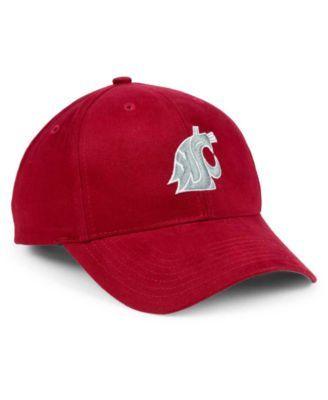84525d73 '47 Brand Boys' Washington State Cougars Basic Mvp Cap - Red Adjustable