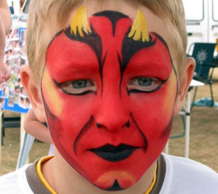 Face Paint Designs for Boys | Tiger Faces, Monsters ...