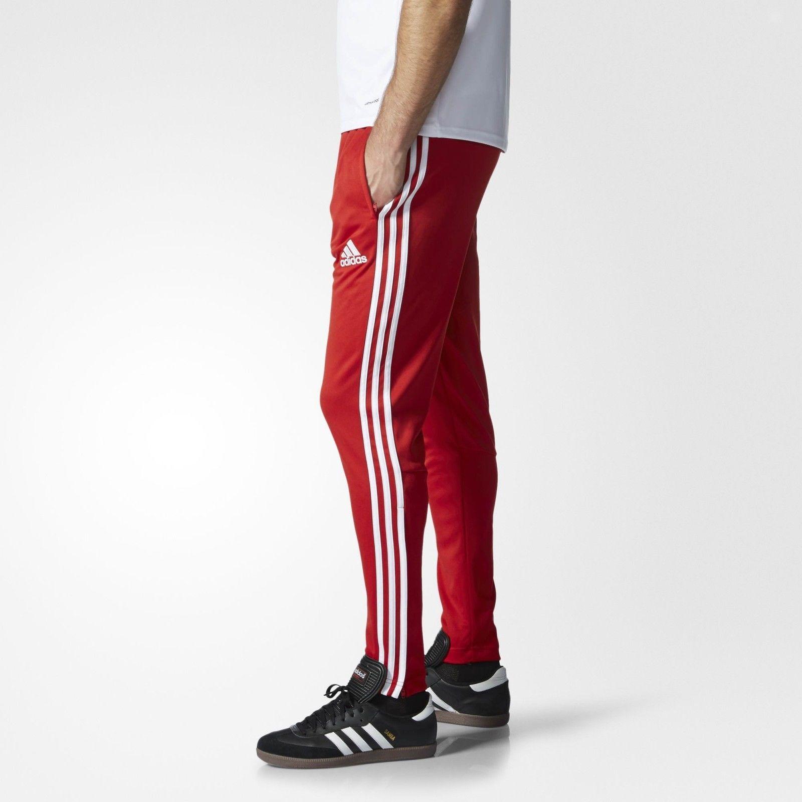 adidas red tracksuit bottoms, Men's sweatshirt adidas tiro15