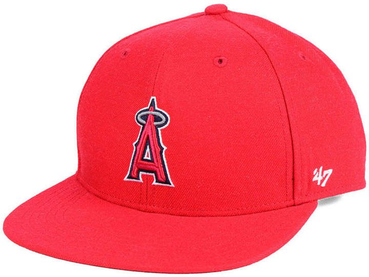 differently lower price with really cheap 47 Boys' Los Angeles Angels Basic Snapback Cap | Products ...