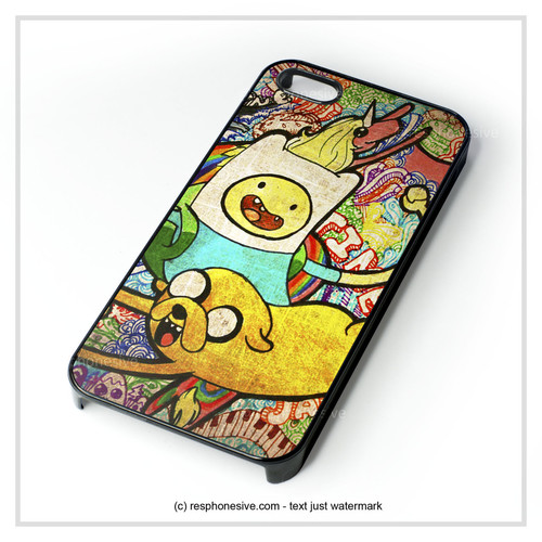 Cartoon Network Adventure Time Jake Finn Design iPhone 4 4S 5 5S 5C 6 – resphonesive | http://www.my-icover.nl ✿. ✿  ☂. ☂