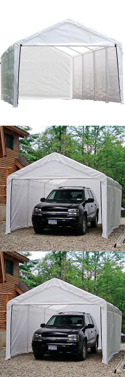 Awnings and Canopies 180992 12 X 20 Outdoor Canopy
