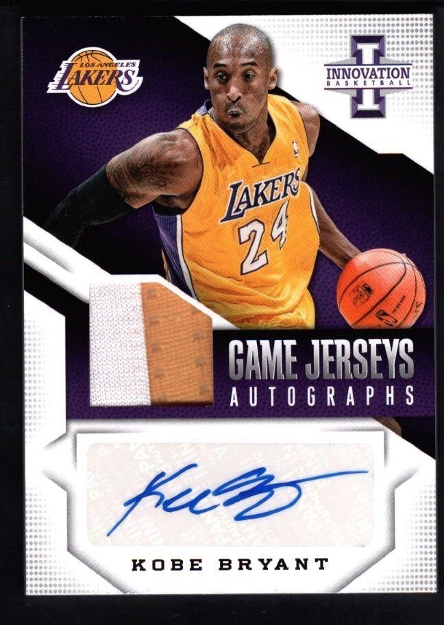 d8e64bdd0e2 Kobe Bryant Game Jersey Autograph ebay