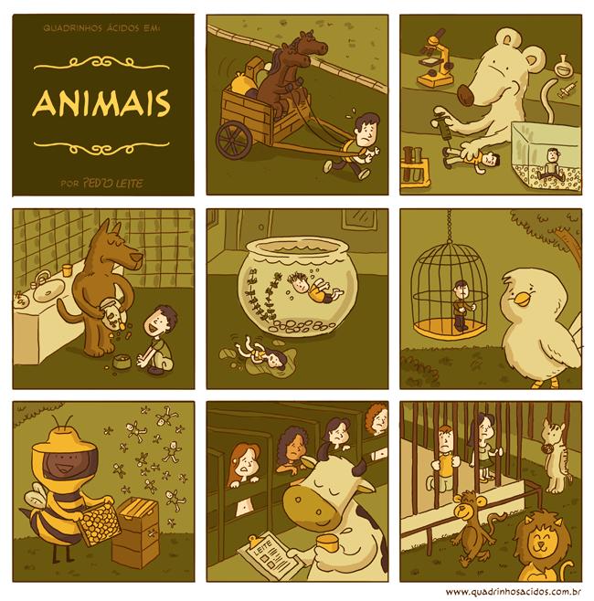 Animais  www.quadrinhosacidos.com.br