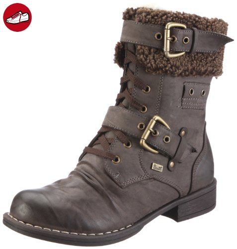 8c15dff2abc4 Rieker Womens Wter Schokochestnut Brown SynthetikPlschTex Snow Boots 37 --  You can find out more details at the link of the image.