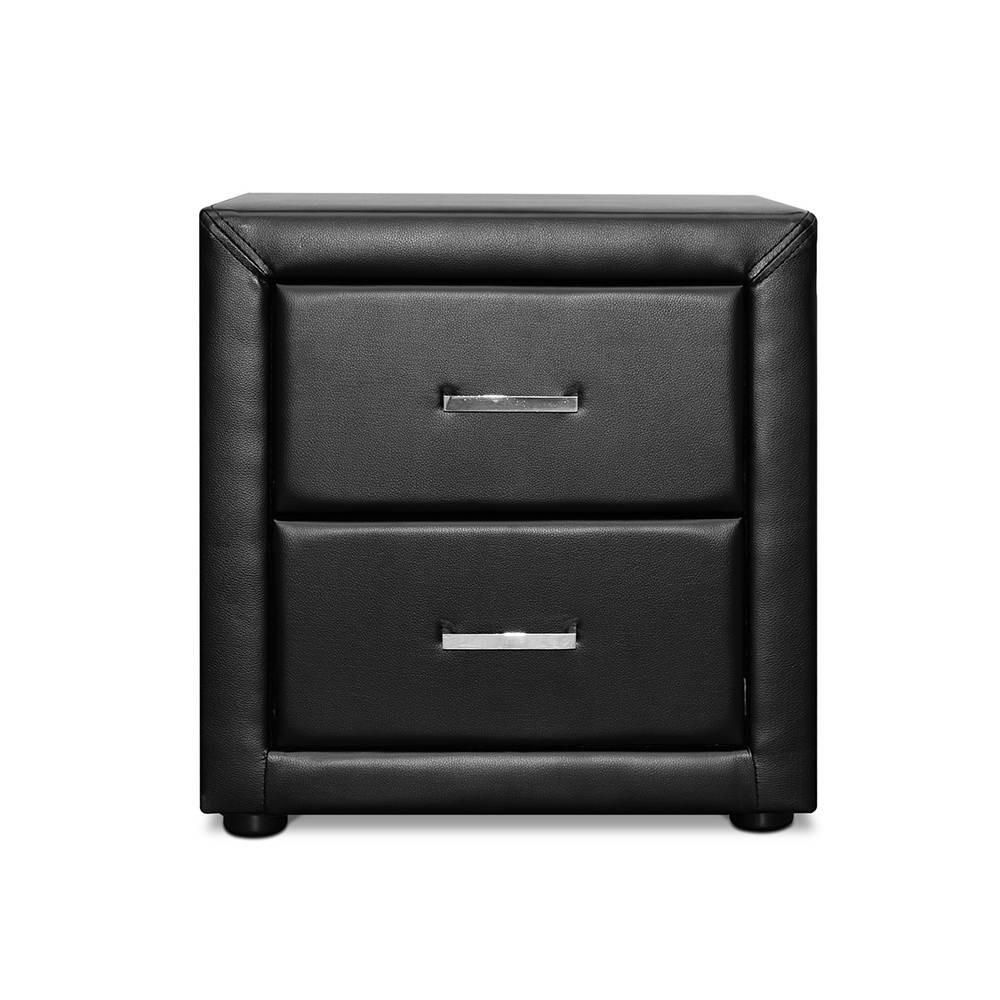 Stella faux leather bedside table black free shipping stella faux leather bedside table black free shipping darkhorse creations watchthetrailerfo