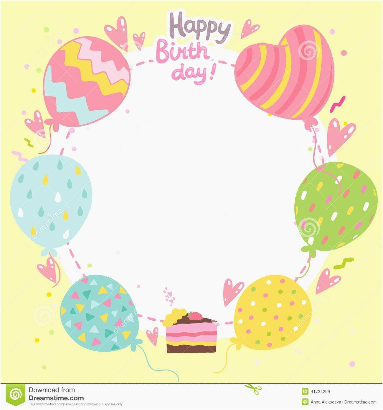 Birthday Card Template Free Greeting Word Blank Quarter Fold Intended For Blank Quarter Fold Card Tem Kartu Selamat Ulang Tahun Template Kartu Templat Undangan
