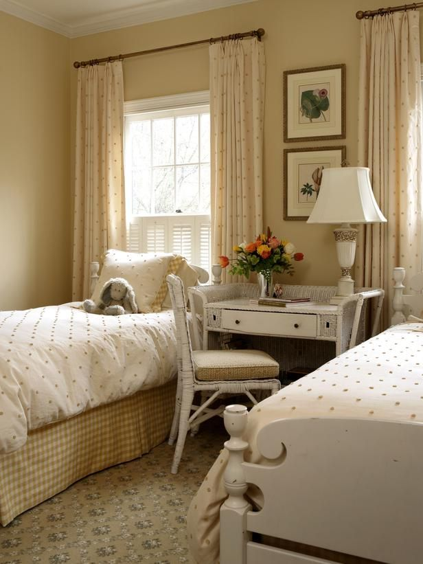 Bedside Table - Desks and Study Zones on HGTV