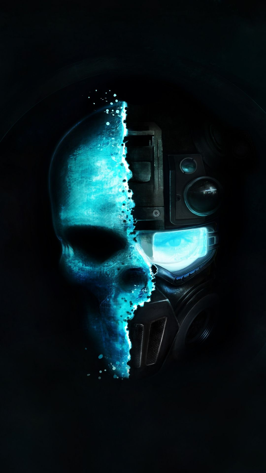 Soldier Skull Face Off Tom Clancy S Ghost Recon Future Soldier