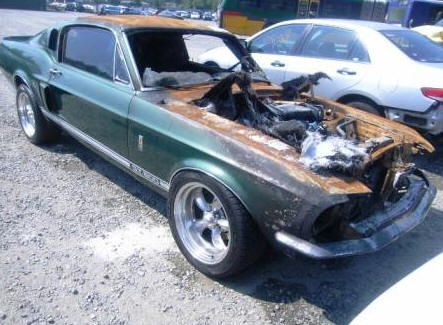 Green 67 Shelby Ford Mustang Fastback Gt500kr For Sale With