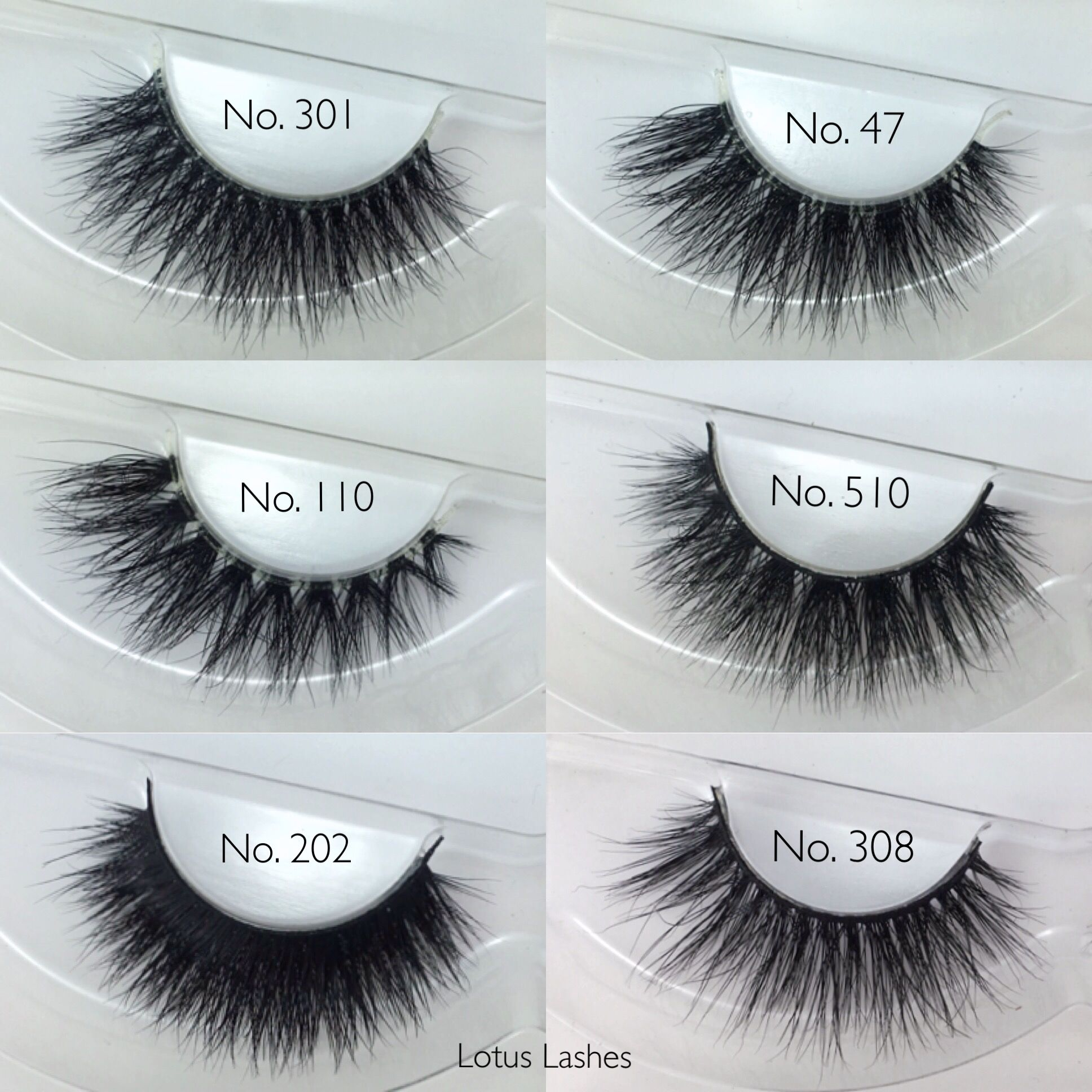 eb1a800e435 We now offer over 30 different lash styles including 3D, double and  invisible band 100% natural mink lashes!