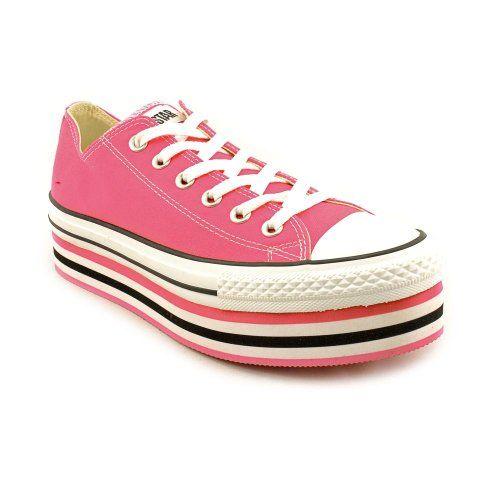 cc9e41cc9e2a6 Amazon.com: Converse The Layer Cake Platform Sneaker 7.5 Pink: Shoes ...