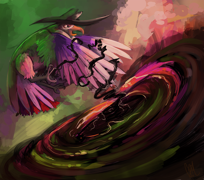 Honchkrow By Drmaniacal On Deviantart Pokemon Painting All Pokemon Pokemon Special