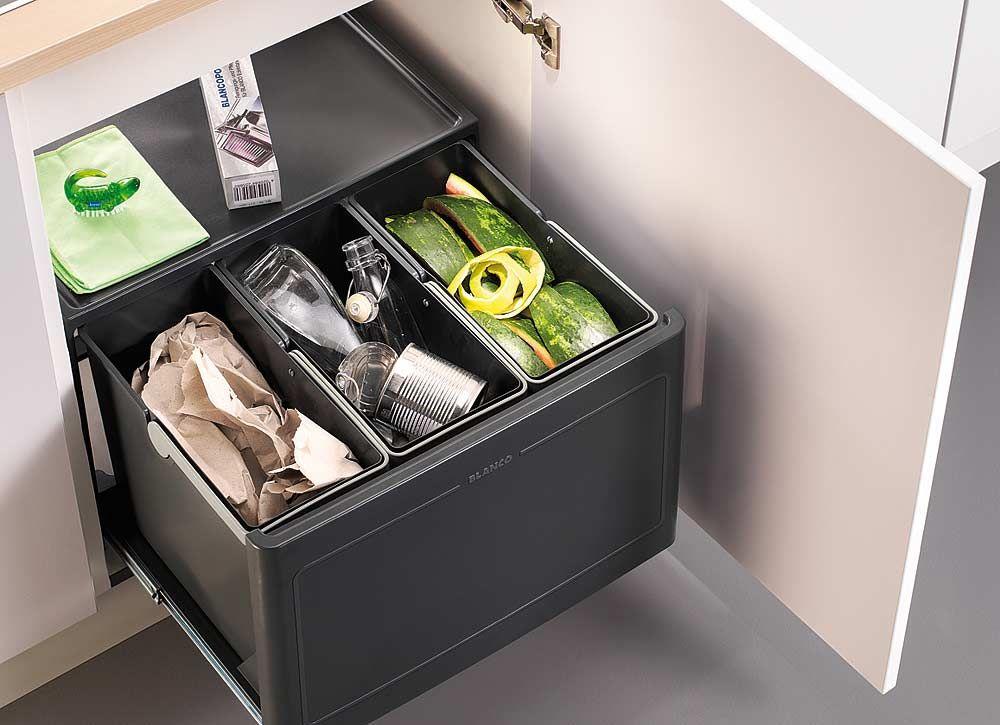 Unterschrank Abfallsammler-System