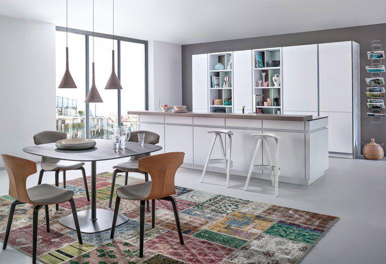Wohnen mit Farben - Wandfarben in der Küche Betonoptik trifft auf - schöner wohnen küchen