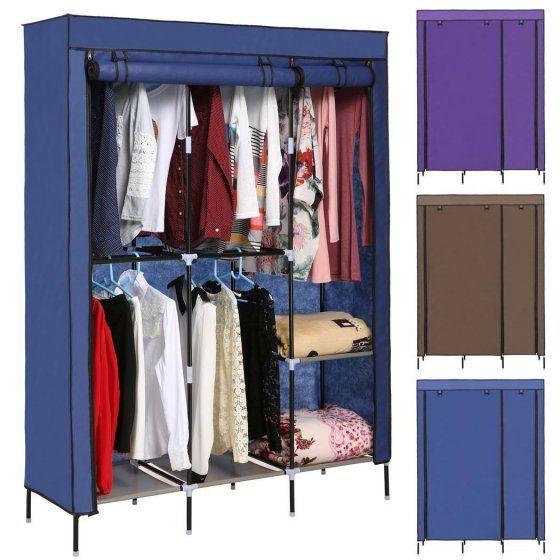 Closet Rods Walmart Folding Clothes Closet Nonwoven Fabric Wardrobe Double Rod Storage
