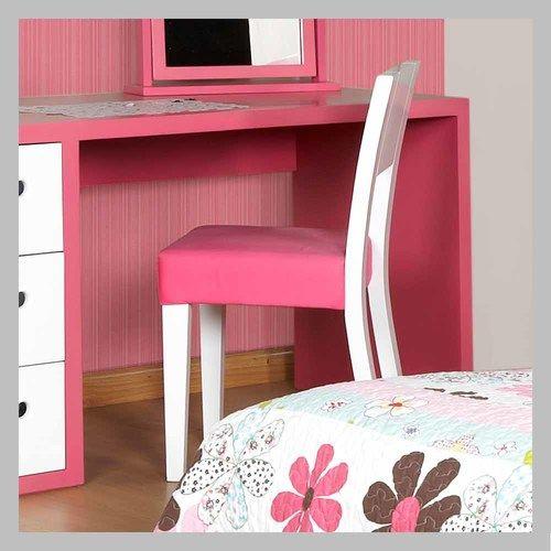 Silla en madera para ni o sm 01 silla para escritorio con for Silla escritorio nina