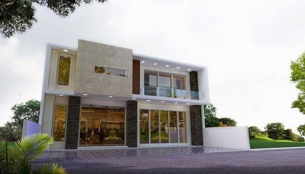 60 Desain Ruko 2 Lantai Minimalis Dan Modern Arsitektur Desain Eksterior Modern