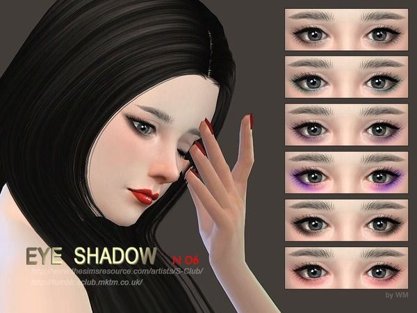 Eyeshadow 06 by S-Club WM at TSR • Sims 4 Updates