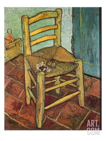 Van GoghS Chair And Pipe   Van Gogh Giclee Print And Pipes